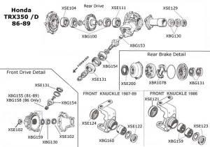 Honda rancher es 350 wiring diagram  Wiring images