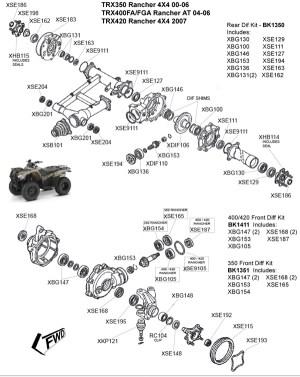 Honda TRX350 Rancher