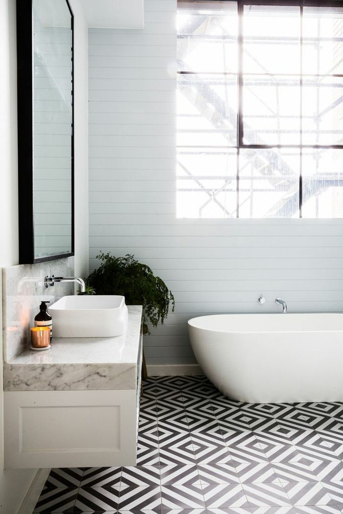 Carrelage Noir Et Blanc Vintage Atwebsterfr Maison Et
