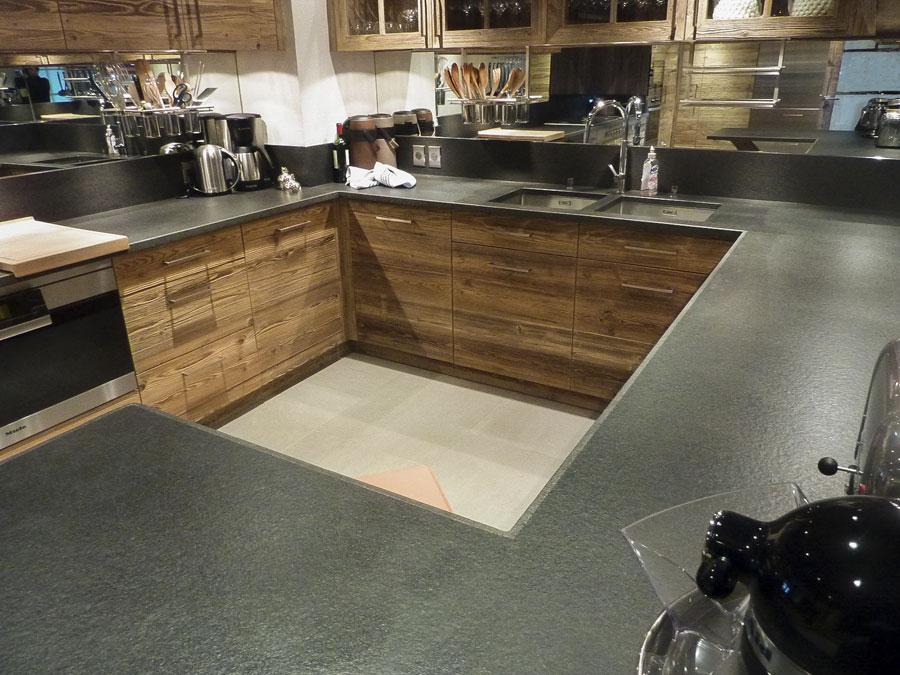 Plan de travail cuisine en pierre  Atwebsterfr  Maison et mobilier