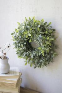 artificial sage wreath