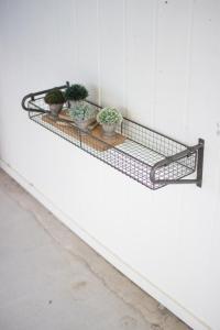 Wire Wall Shelves - Photos Wall and Door Tinfishclematis.Com