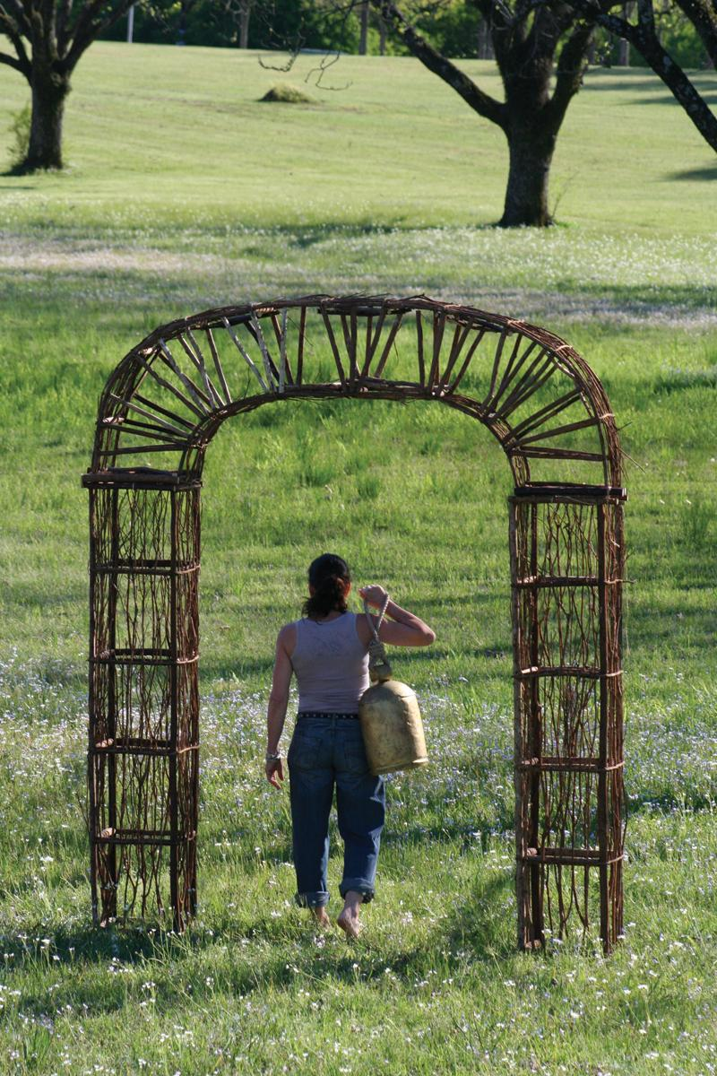 Twig And Iron Garden Archway