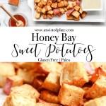 Pinterest image for Honey Bay Sweet Potatoes.