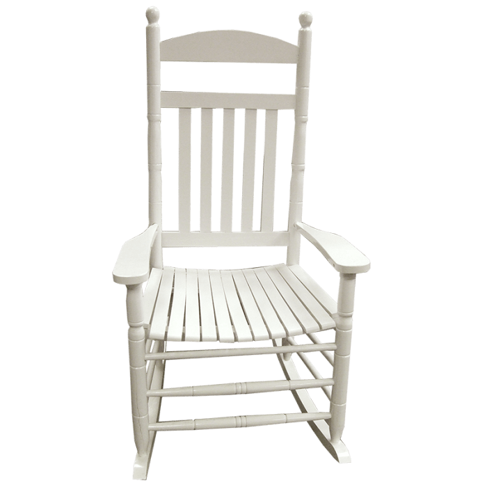 rocking chair white outdoor black faux leather polyurethane 26592001 png