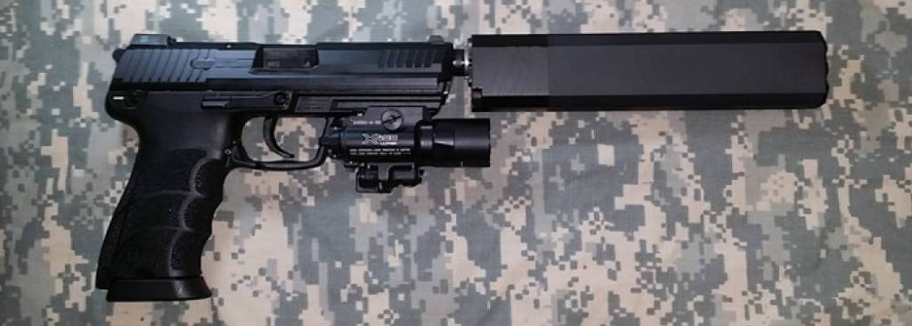 HK 45 Tactical & Silencer Osprey