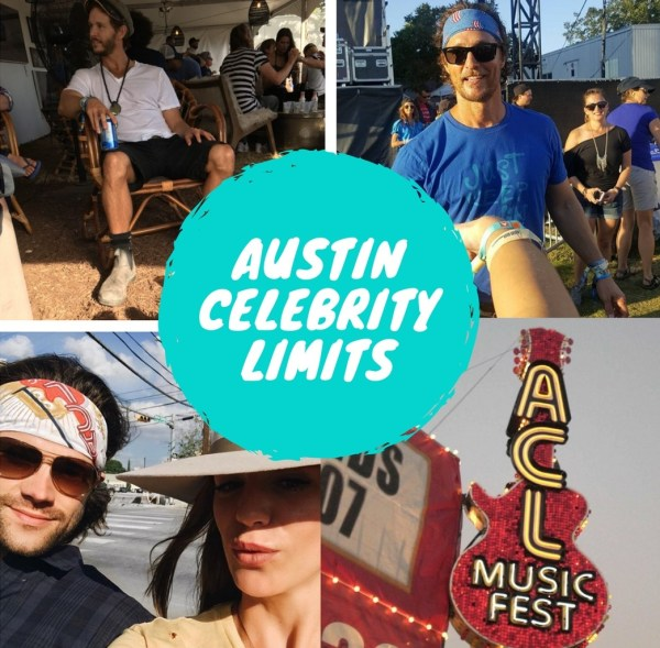 celebrity sightings at Austin City Limits