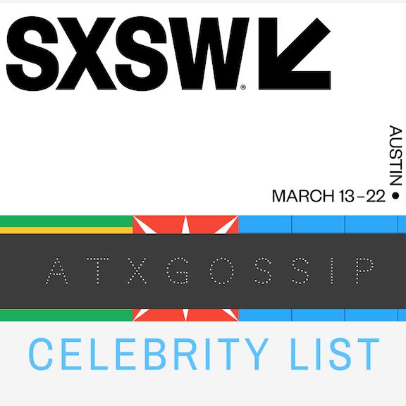 Celebrities Attending SXSW