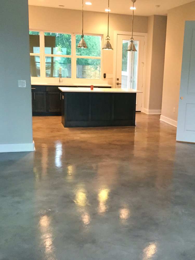 ATX Stained Concrete | Stained Concrete Austin, Epoxy Flooring ...
