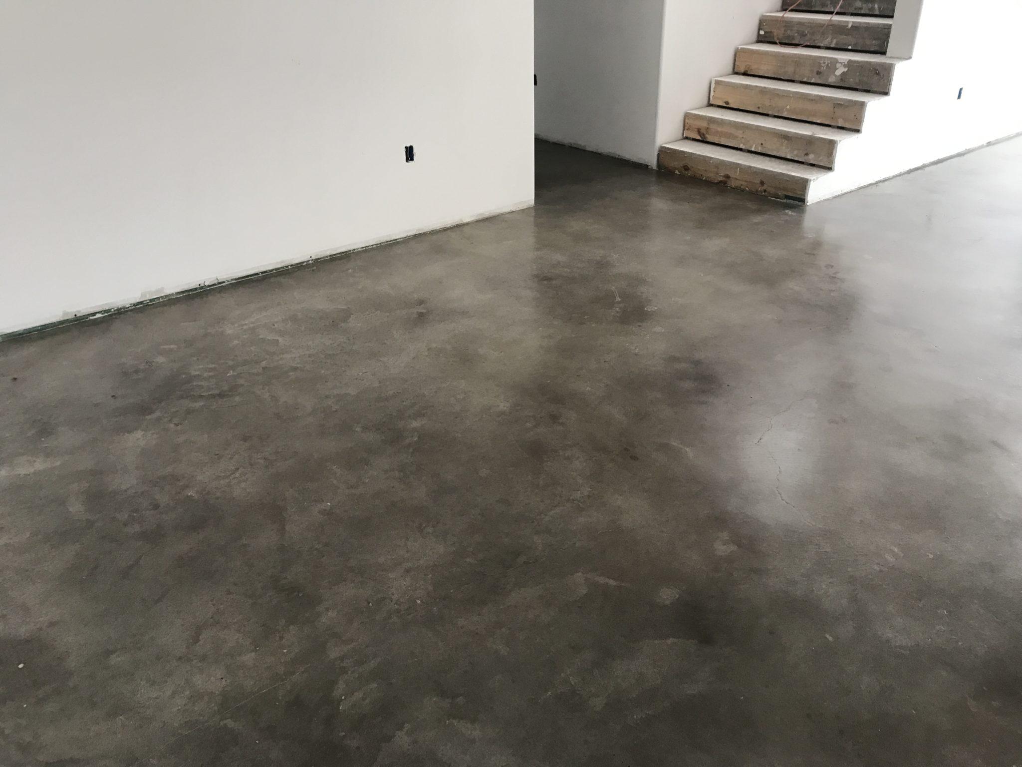 concrete floor austin