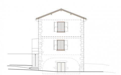 Villa A élévation