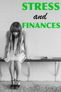 Stress and Finances Pinterest