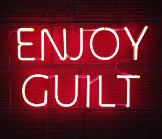 enjoy guilt