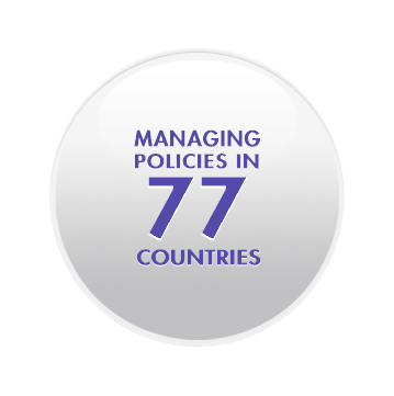 Managing Policies in more than 70 Countries