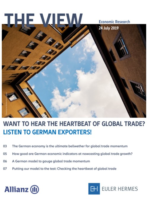 Want to hear the heartbeat of global trade? Listen to German exporters!