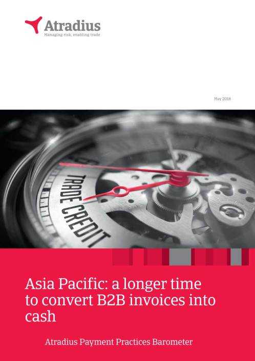 Asia Pacific: a longer time to convert B2B invoices into cash