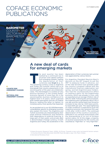 A new deal of cards for emerging markets