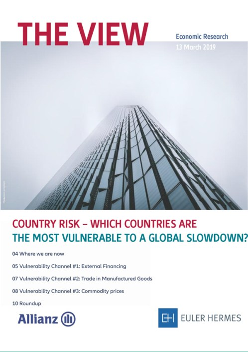 Country Risk - Which countries are the most vulnerable to a global slowdown?