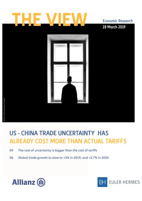 US - China trade uncertainty has already cost more than actual tariffs