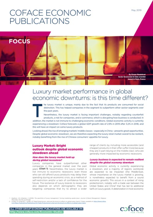 Luxury market performance in global economic downturns: is this time different?