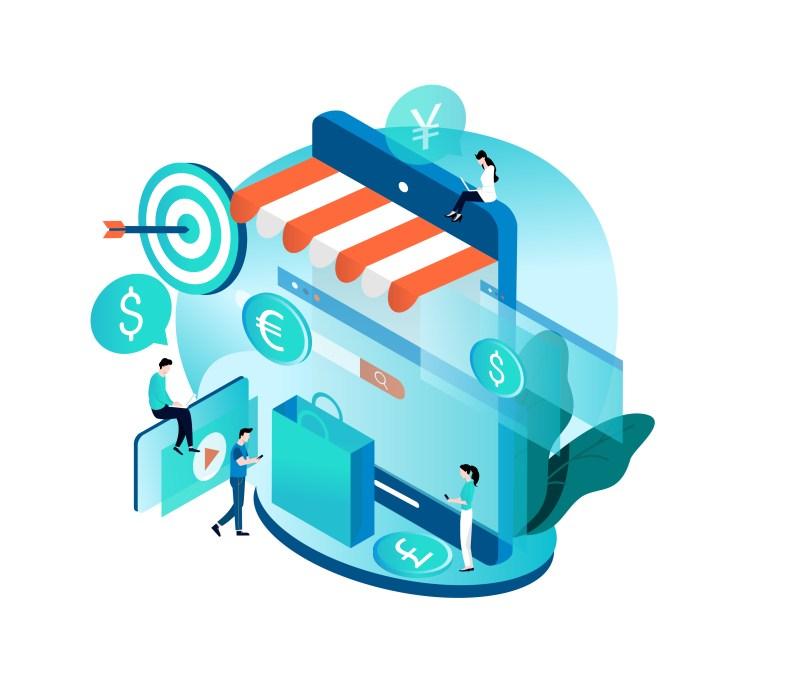 E-commerce : Un canal qui représente 1/4 du commerce mondial B2B