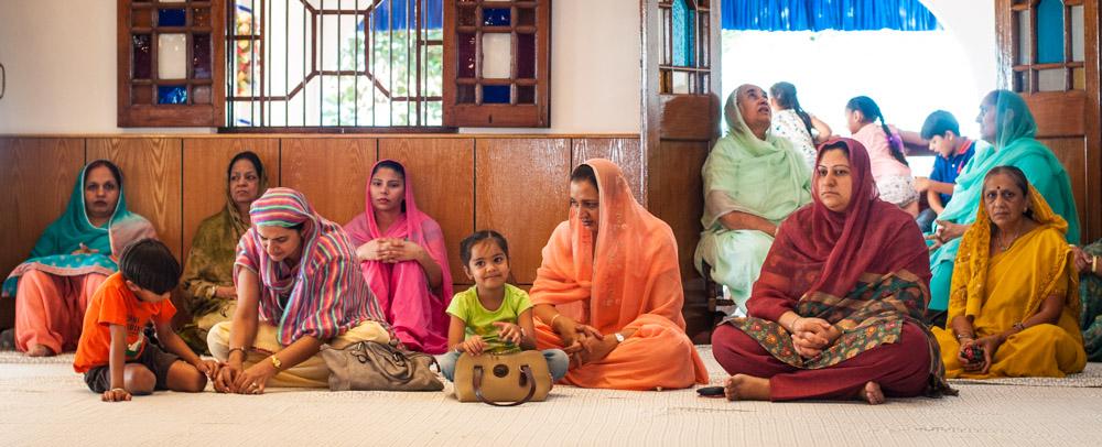 Les femmes dans le temple sikh