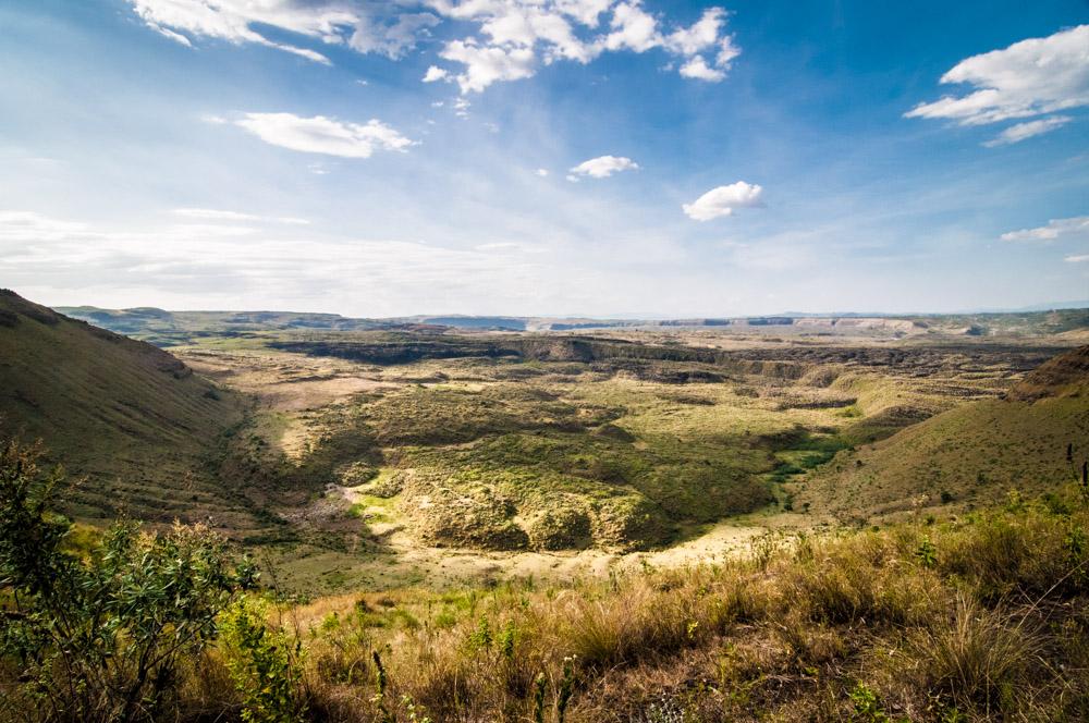 Le cratère de Menengai