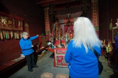 Visite du temple chinois de Bendigo