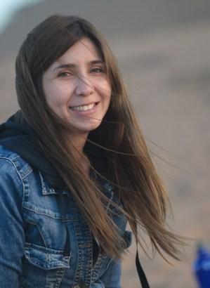 portrait de Vanessa souriant