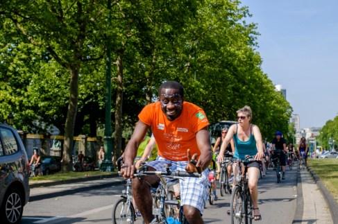 masse critique à Bruxelles : la vélorution du 11 juillet 2015