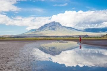Tanzanie Lac Natron Masai