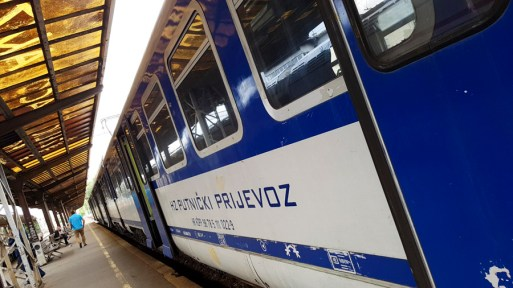 Train en Croatie HZPP