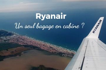 ryanair bagage cabine