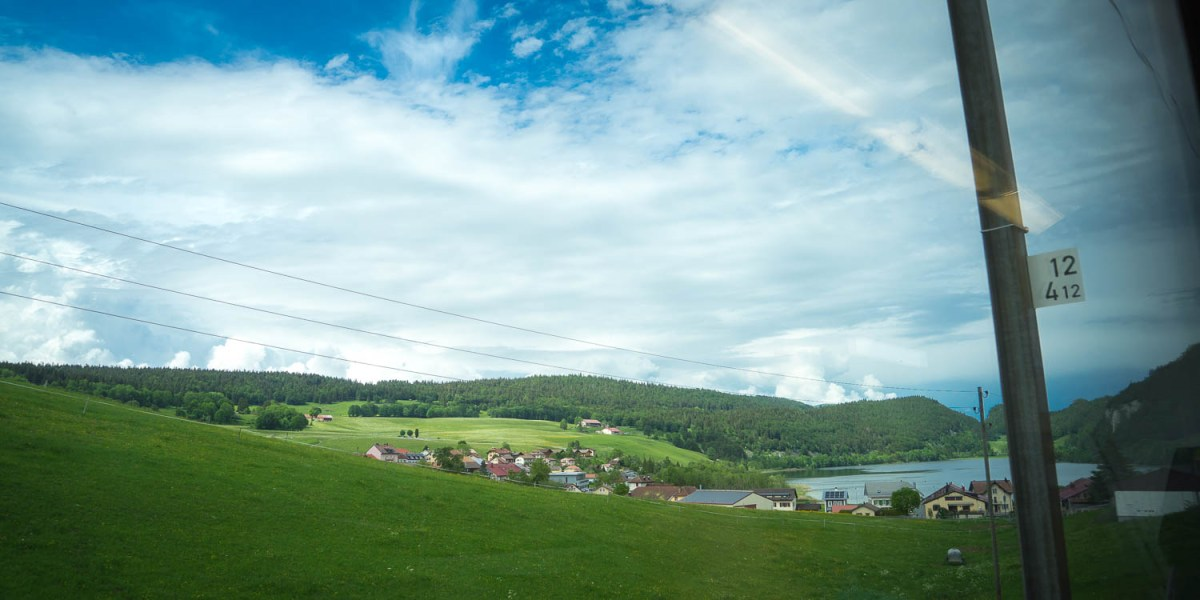 Lac de Joux, Canton de Vaud, Suisse. Photo : Michel Dvorak