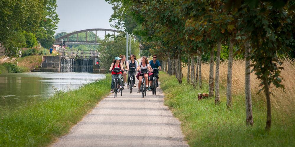 Canal des 2 mers à vélo - entre Castelsarrasin et Moissac