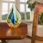 Glasfigur Figur Skulptur Modern Glas Glasskulptur Im Murano Antik Stil 25cm Aubaho