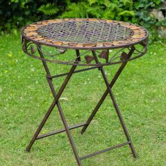 Antique Cast Iron Garden Table And Chairs Hans Wegner Replica Chair 4 Furniture Ebay