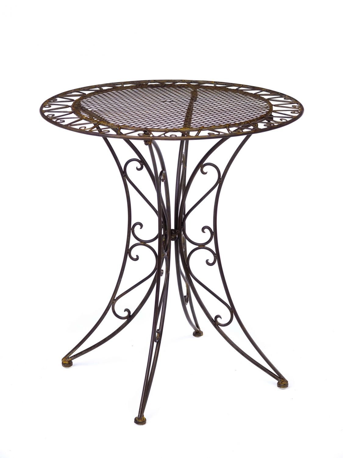vintage wrought iron table and chairs kampa fishing chair antique style garden furniture set 2
