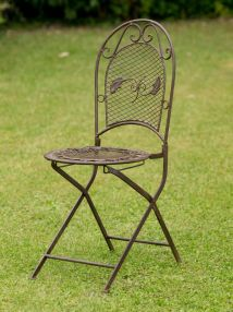 Antique Style Garden Furniture Set - Table & 2 Chairs