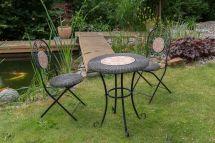 Set Gardenset Iron Garden Furniture Black Antique Style
