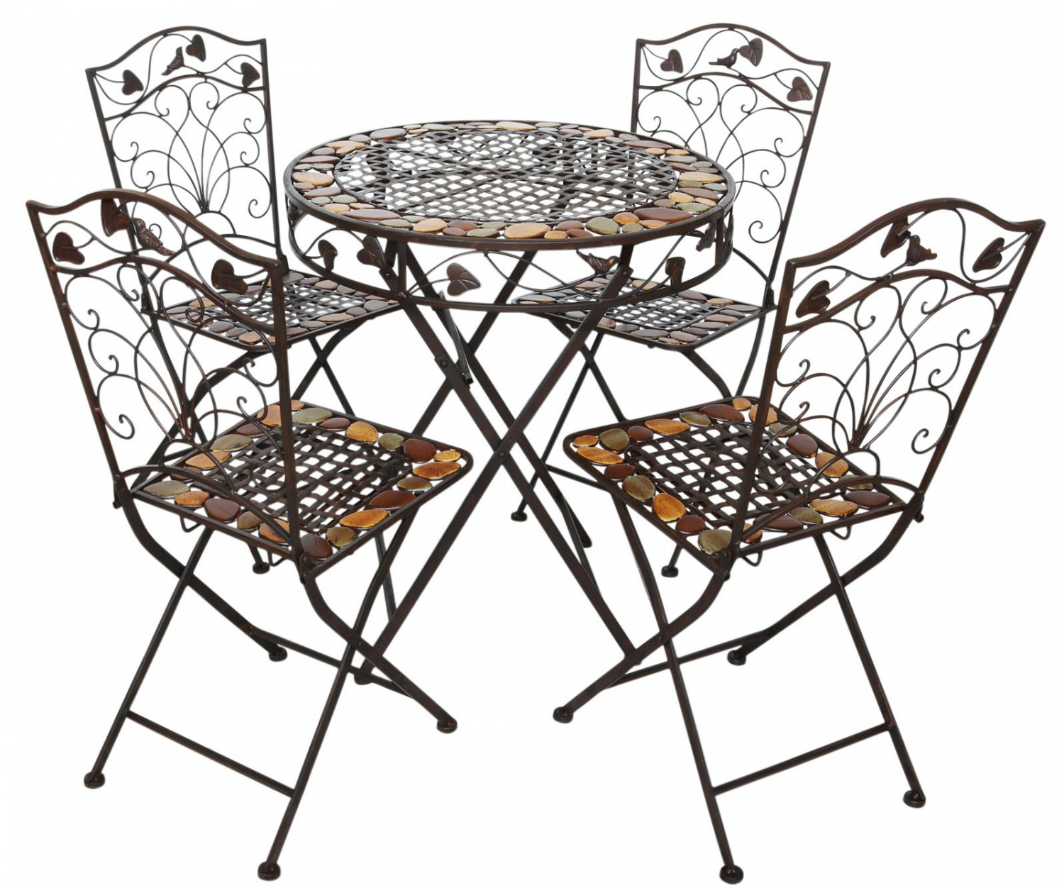 antique cast iron garden table and chairs retro diner 4 furniture