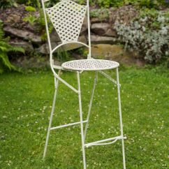 Stool Chair Garden The Original Air Furniture Iron Bar
