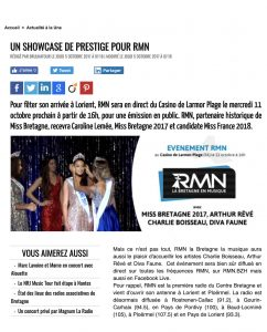 La lettre Pro – Showcase Miss Bretagne
