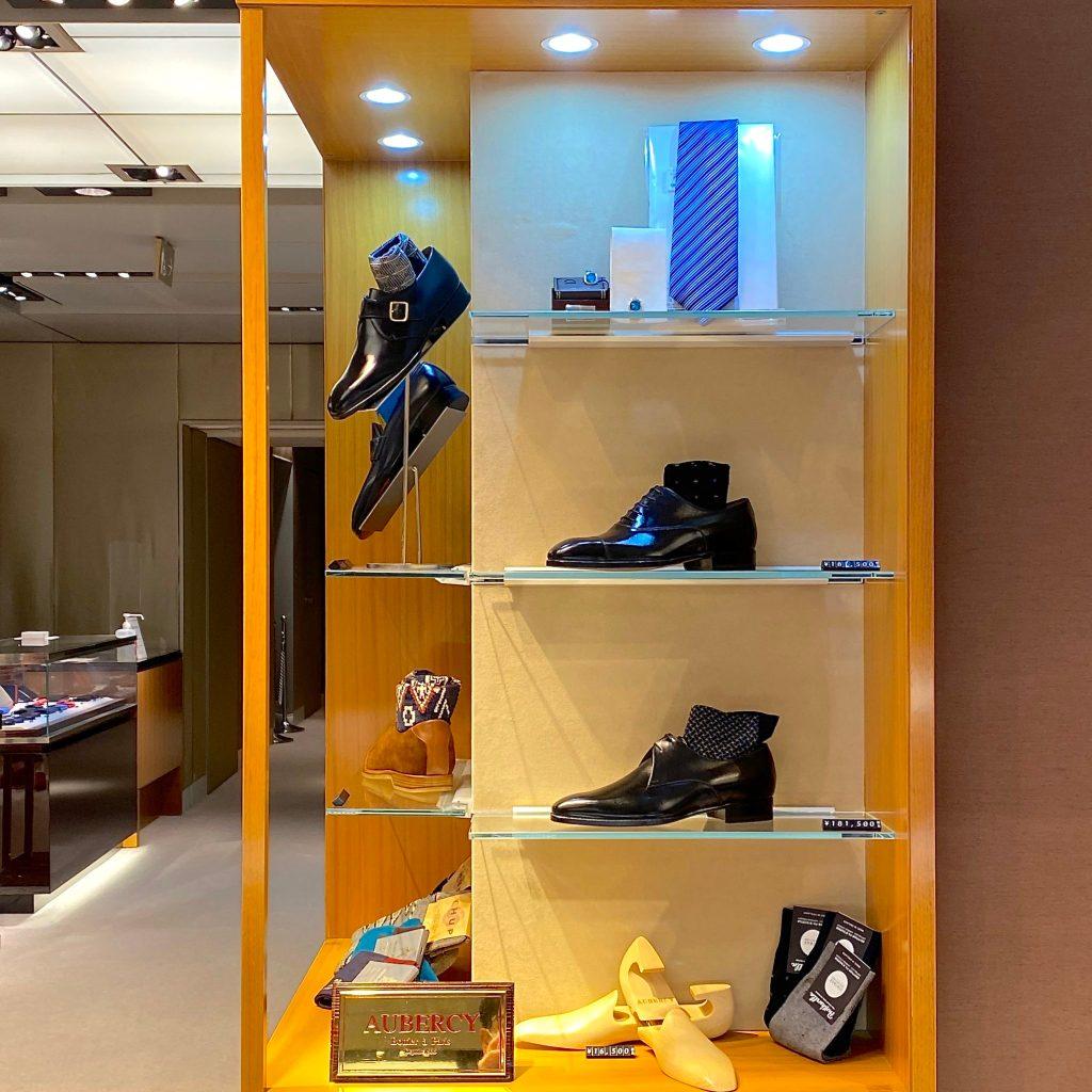 L'intérieur du magasin Wako au Japon