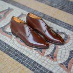 La bottine chukka Joris en cuir marron