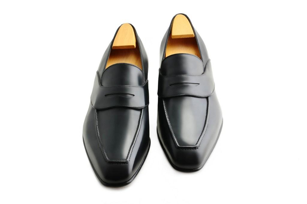 Le mocassin loafer Alec en cuir noir