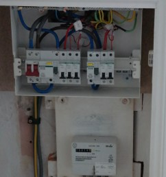 replacing upgrading consumer units fuse boxes auber electrical replace old fuse box with rcd [ 2105 x 2552 Pixel ]