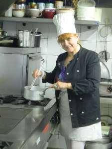 Gigi - Chef cuisinier et Patronne de l'Auberge du Pont d'Antis