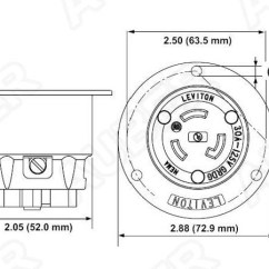 200 Amp Service Wiring Diagram Pioneer Deh P5100ub Leviton 240v 30a Nema L6-30r Flanged Outlet Locking Receptacle [l6-30r-f] - $33.80 : Auberins ...