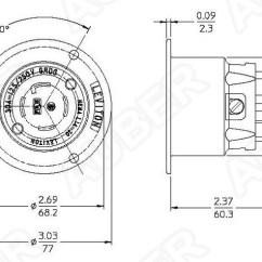 Nema L14 30p Wiring Diagram 2 Usb Pin Leviton 125/250v 30a L14-30p Locking Flanged Inlet [l14-30p-f] - $32.90 : Auberins.com ...